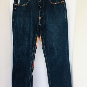 Parish Men's Blue Jeans 34X30